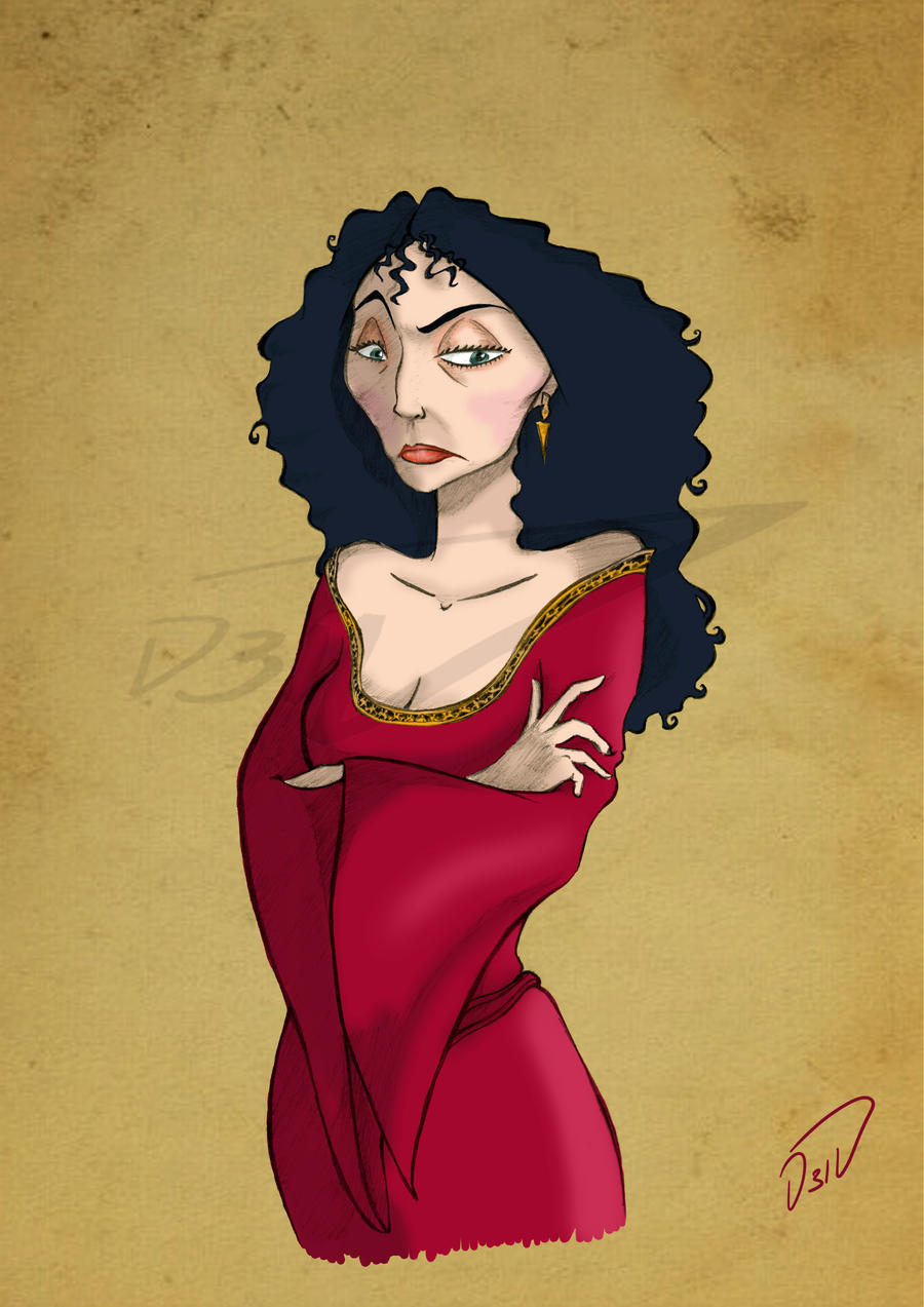 MOTHER GOTHEL by D3iv