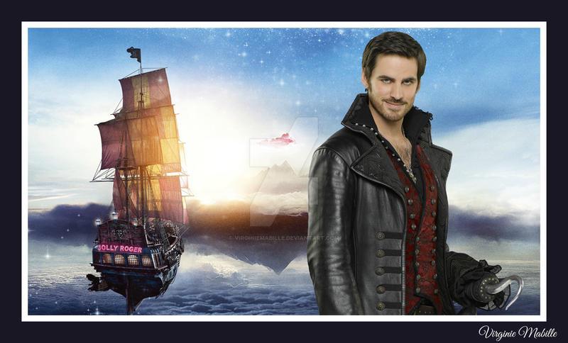 Jolly Roger & Captain Hook