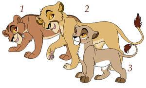 Sibling Cub Adoptables