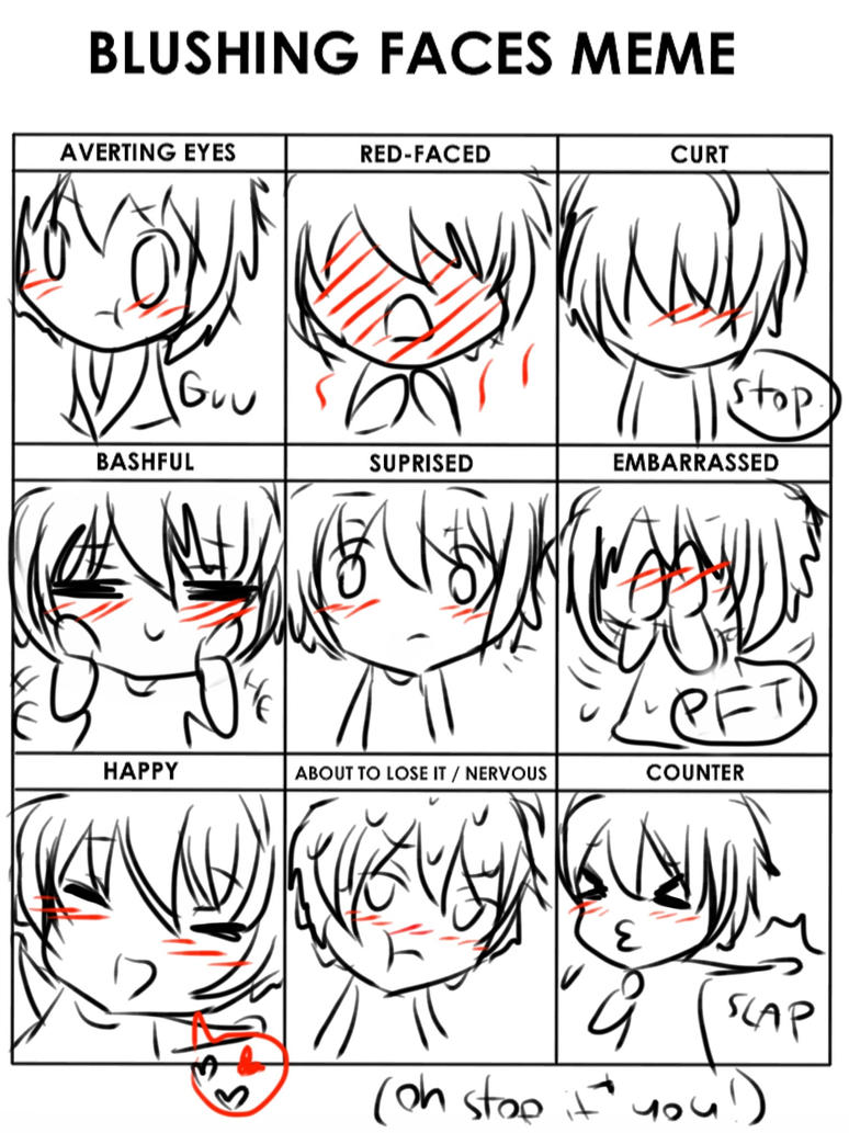 Blushing faces meme lily by leaveittofate on deviantart blushing faces meme lily by leaveittofate ccuart Choice Image