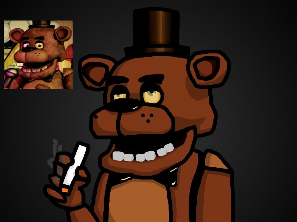 Stoned Freddy by EnvyMan35