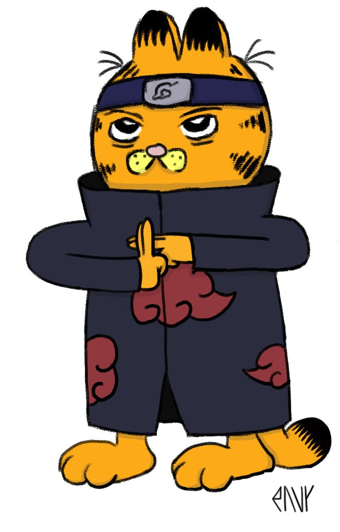 Garfield by EnvyMan35