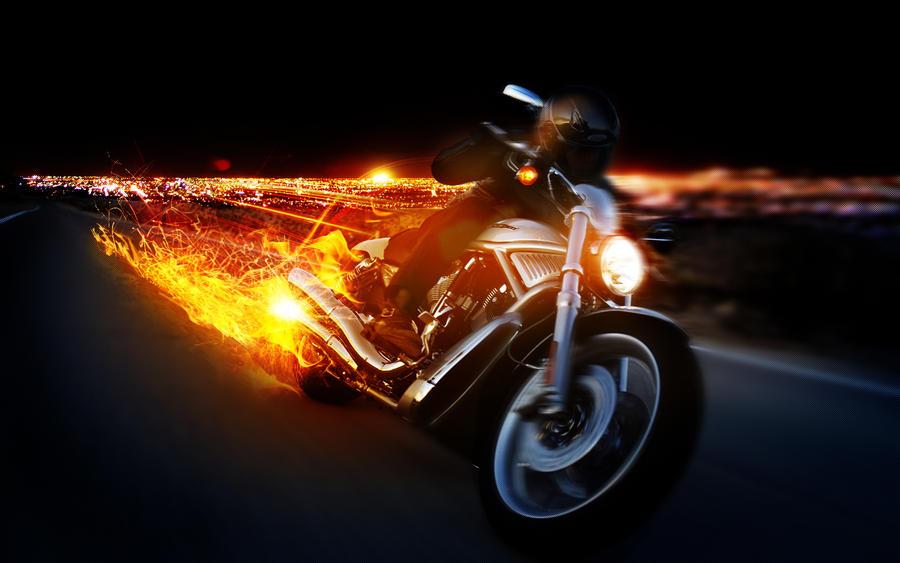 Attrayant Harley Davidson Firebrunosampaioart On Deviantart