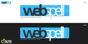 webSPELL Schriftzug 2008 by jN89