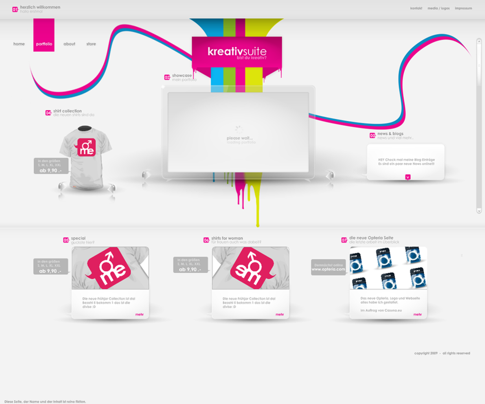 company 4sale by jN89 Web Design Interface Collection of Inspiration