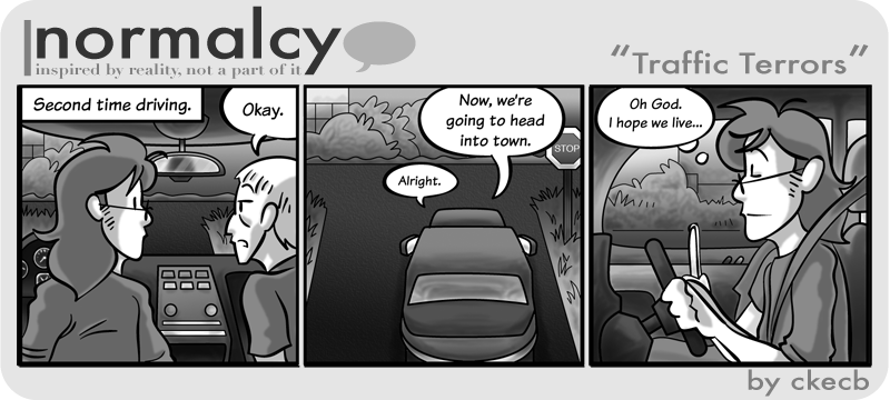 Normalcy-24:Traffic Terrors by NormalcyStudios