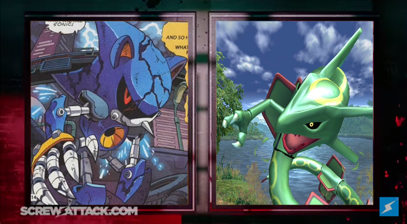 Metal Sonic Vs Rayquaza Prelude By Hakuxtemari On Deviantart