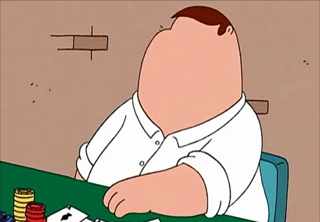Peter griffin stroke face