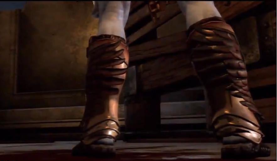 God Of War Hermes Boots Sasuke Uchiha vs. Krat...