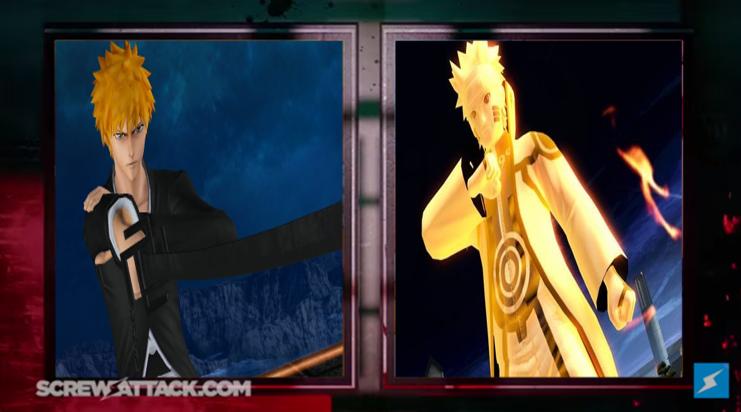 Ichigo Kurosaki vs Naruto Uzumaki - Battle by hakuxtemari on DeviantArt