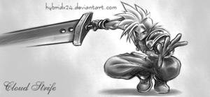 Cloud Strife by HybRiDx24