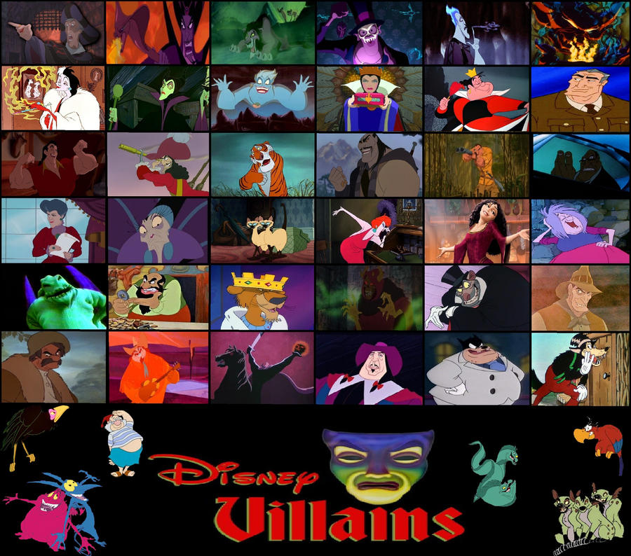 Disney Villains random combine by Stay70573 on DeviantArt