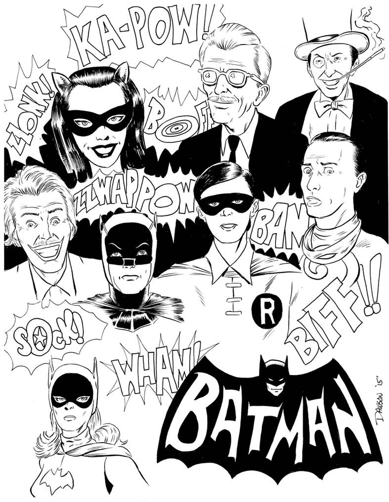 Batman 66 by frankdawsonjr