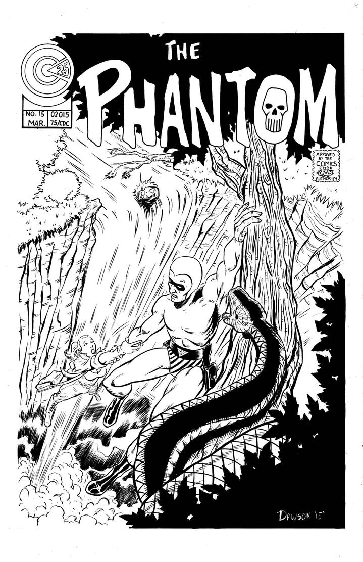 The Phantom Mock Cover! by frankdawsonjr