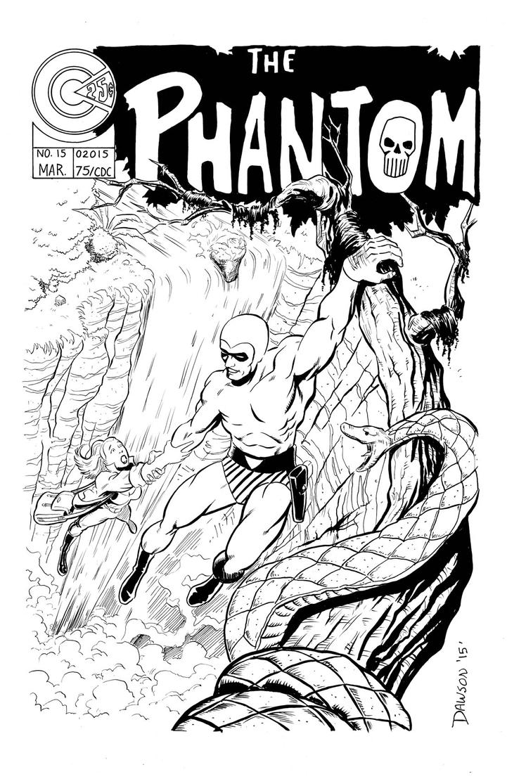Re do of the Phantom Mock Cover by frankdawsonjr