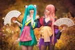 Megurine Luka, Hatsune Miku (Project Diva )