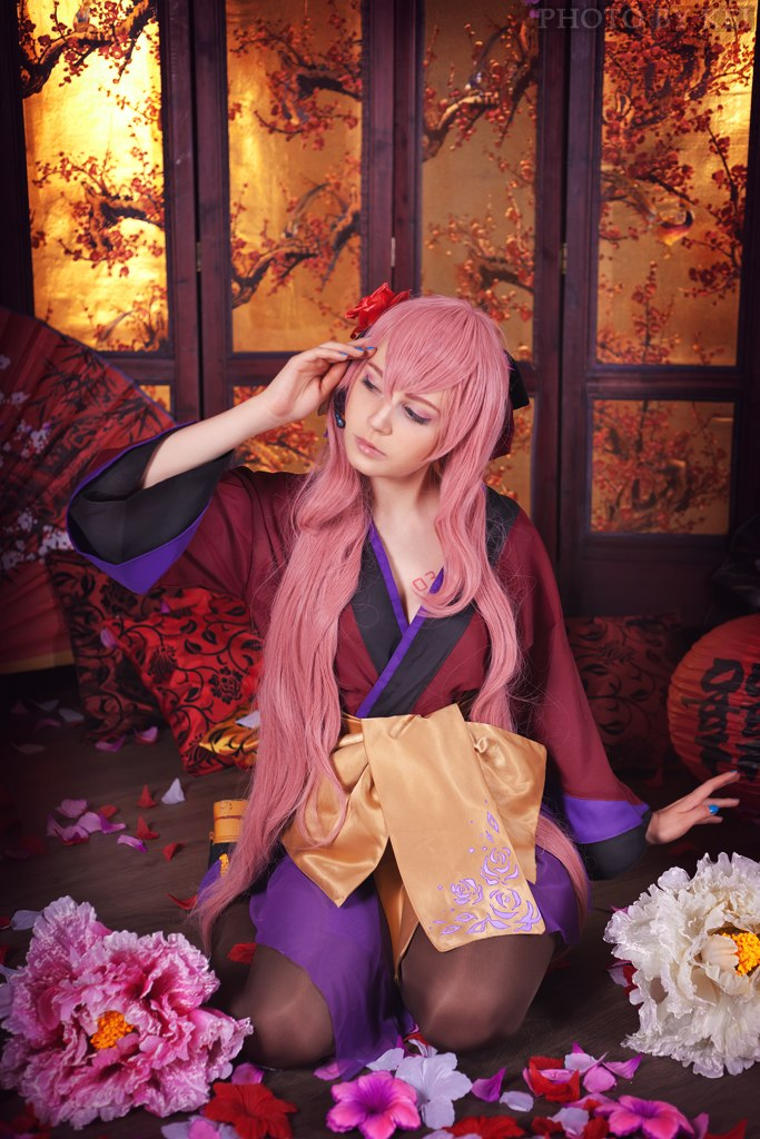 Megurine Luka (Project Diva ) by Faid-Eyren