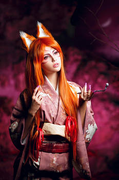 Kitsune (Japanese Mythology) by Faid-Eyren