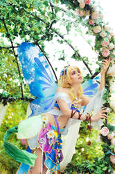 Eli Ayase and Nozomi Tojo Fairy by Faid-Eyren