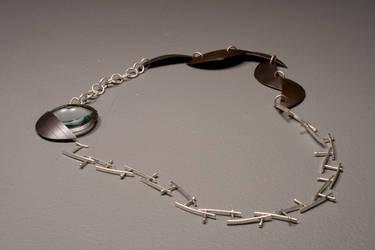 Centipede Necklace by BoyFugly