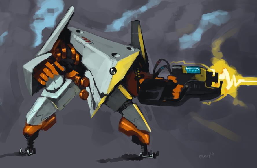 Heavy Blasterbot by BoyFugly