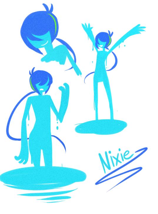 Nixie by pixel-stick