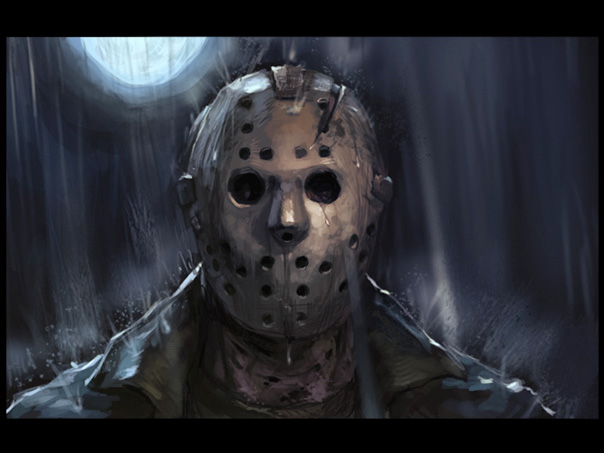 What does jason from friday the 13th look like 8