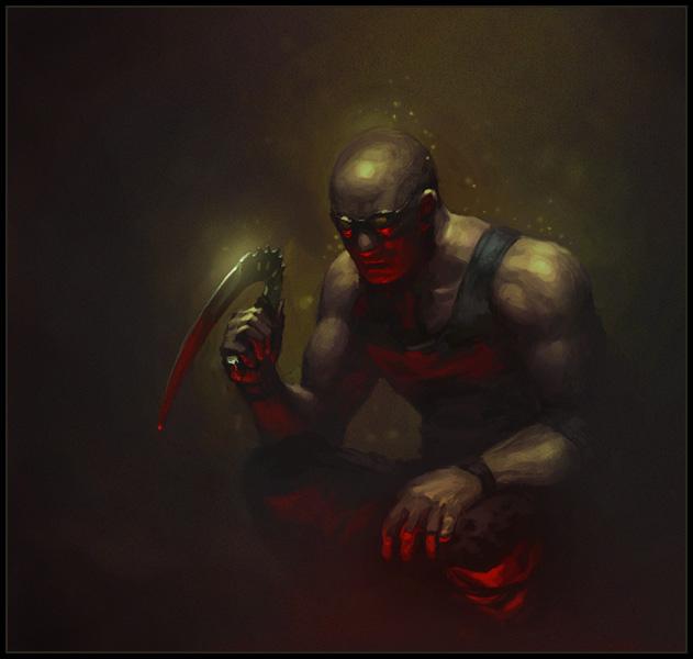 Riddick by bopchara