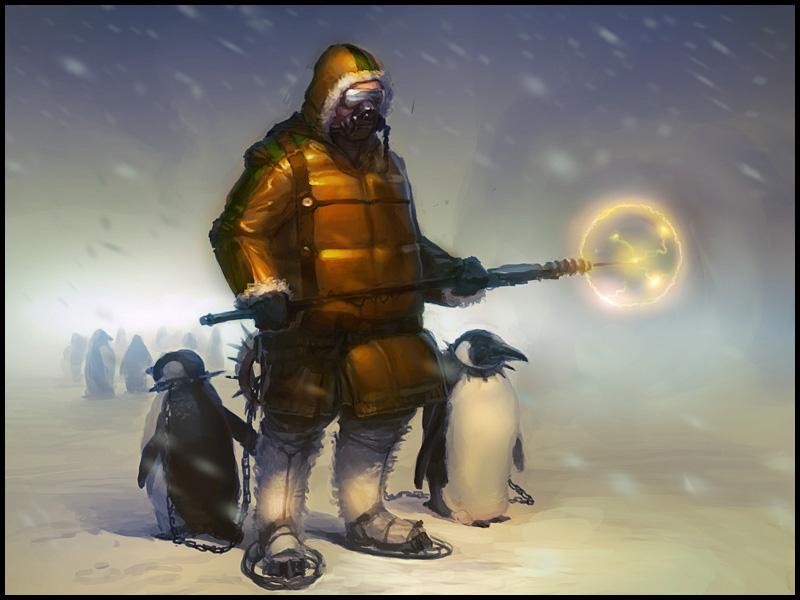 Penguin Tamer Yellow by bopchara