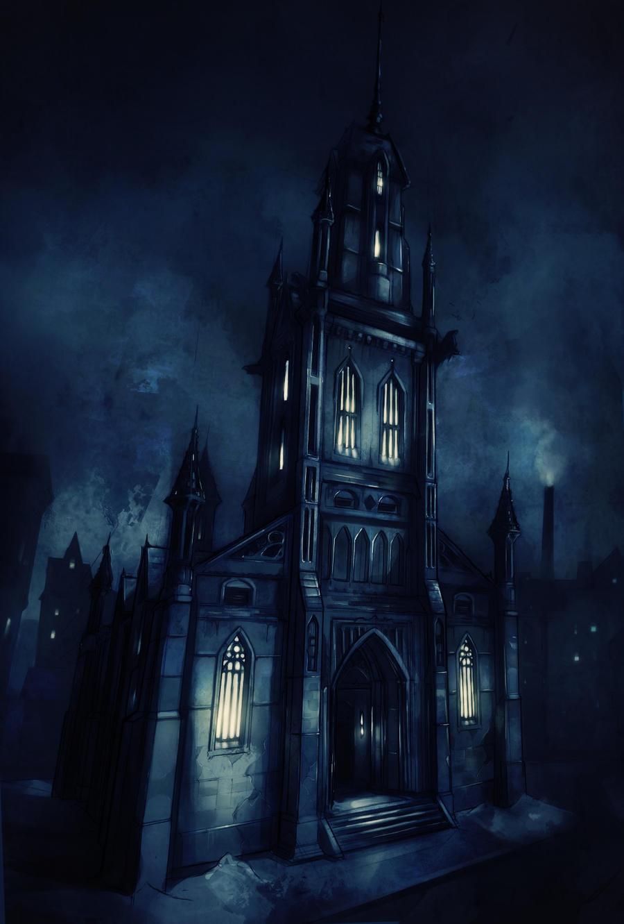 Season 2: Werewolf - Shadow Pine - Day 1 Fantasy_church_by_viijigsaw-d4qhs0l