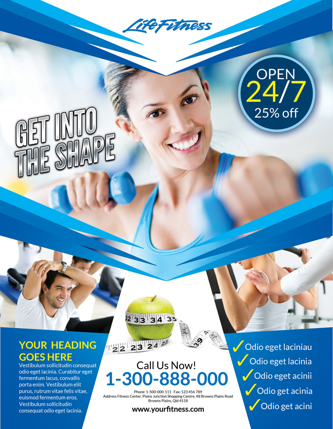 Fitness Flyer by inddesigner on DeviantArt – Fitness Flyer