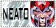 Neato Magneto by ilikebeingevil