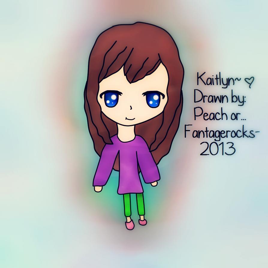{OC} Kaitlyn by fantagerocks2013