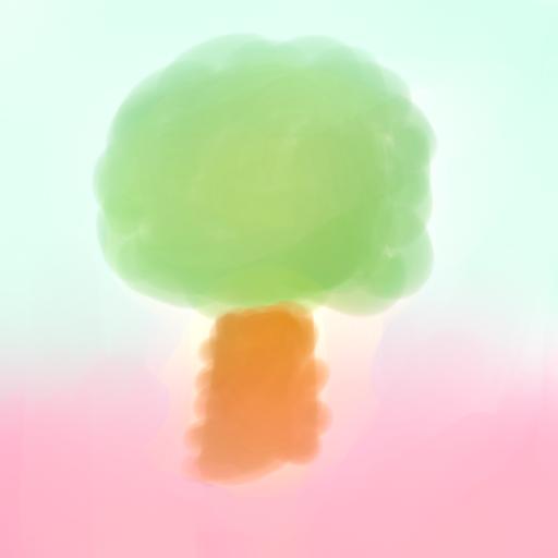 Glowing Tree by fantagerocks2013