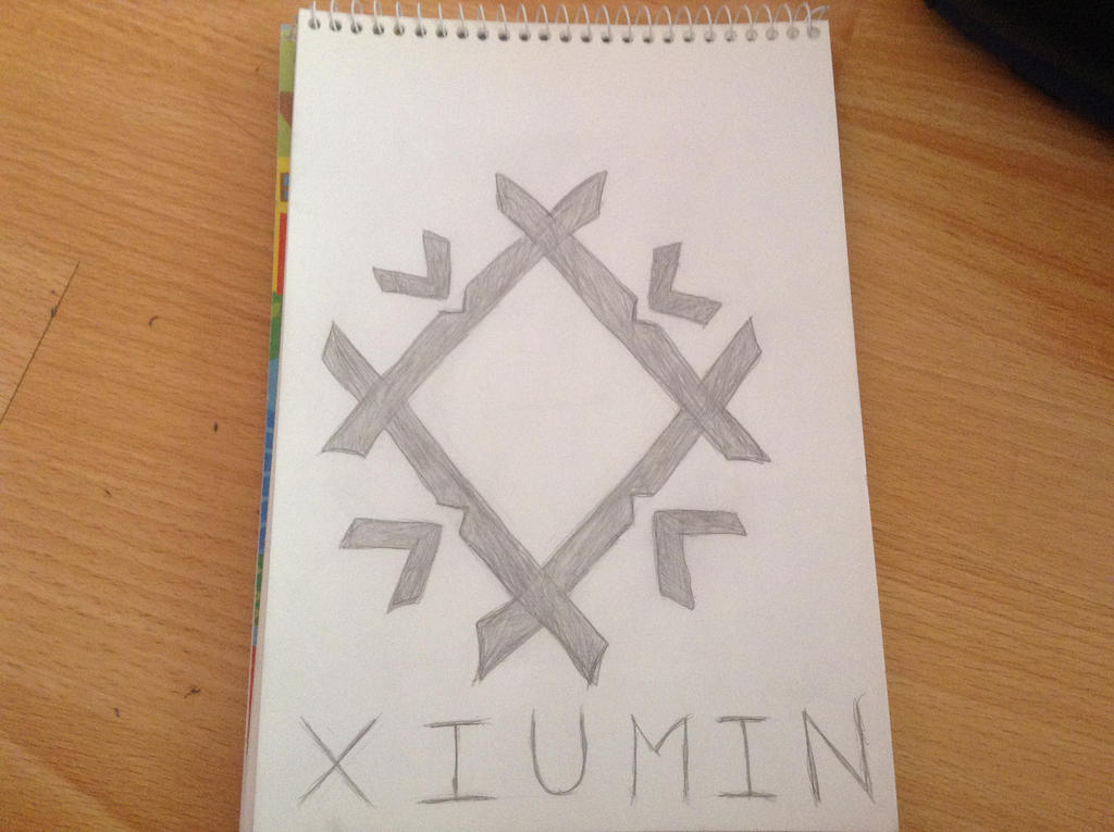 Xiumin's Symbol From MAMA Era: Frost by fantagerocks2013