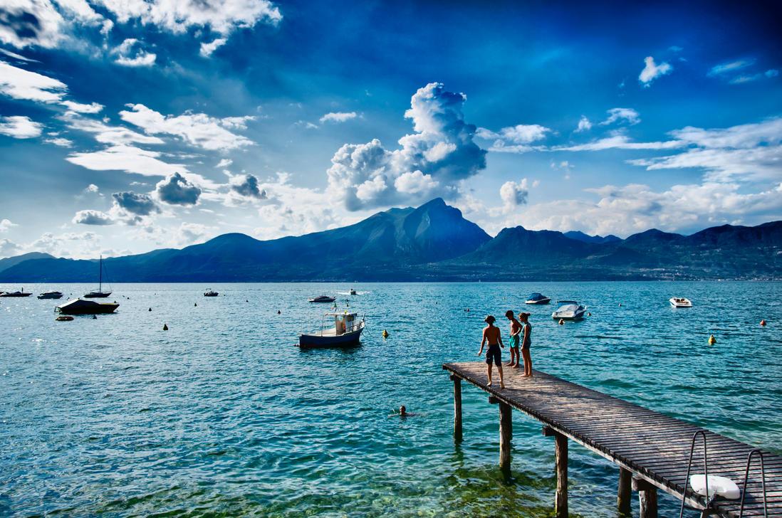 Lago di Garda by devil-pl
