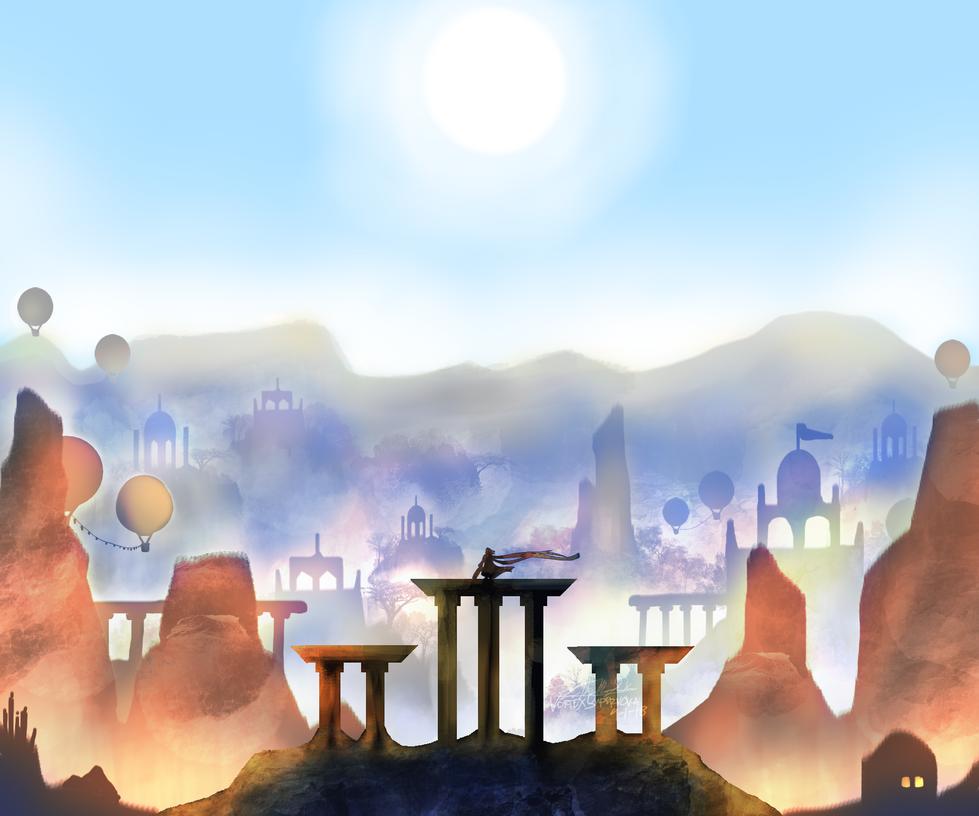 Alto's Adventure // Alto's Odyssey by VortexSupernova