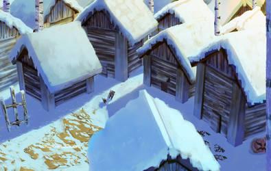 Tuff House Winter