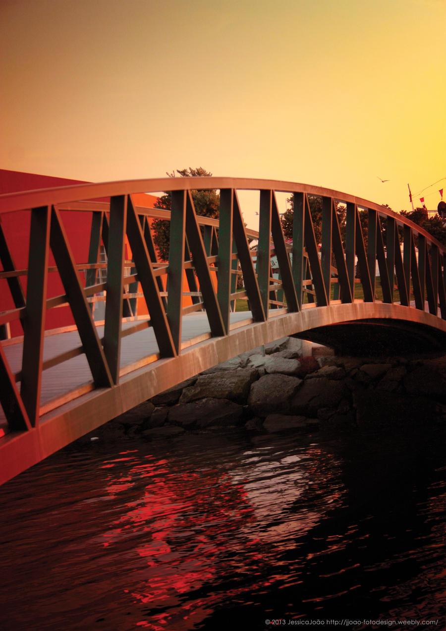 Sunset Bridge by JWabbit