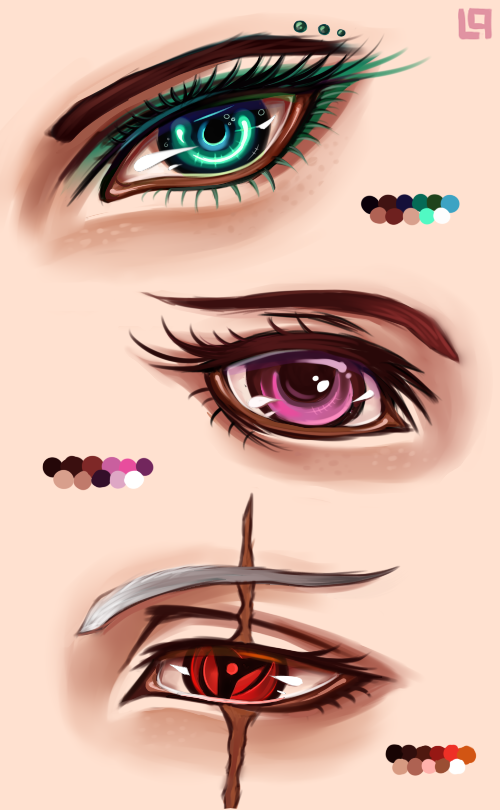 Eyes practice by Linkinparks