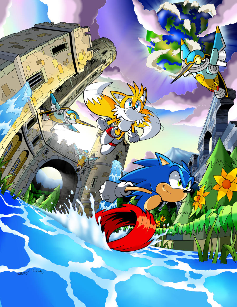 Sonic 4 Ep. 2 by Anthony Brown