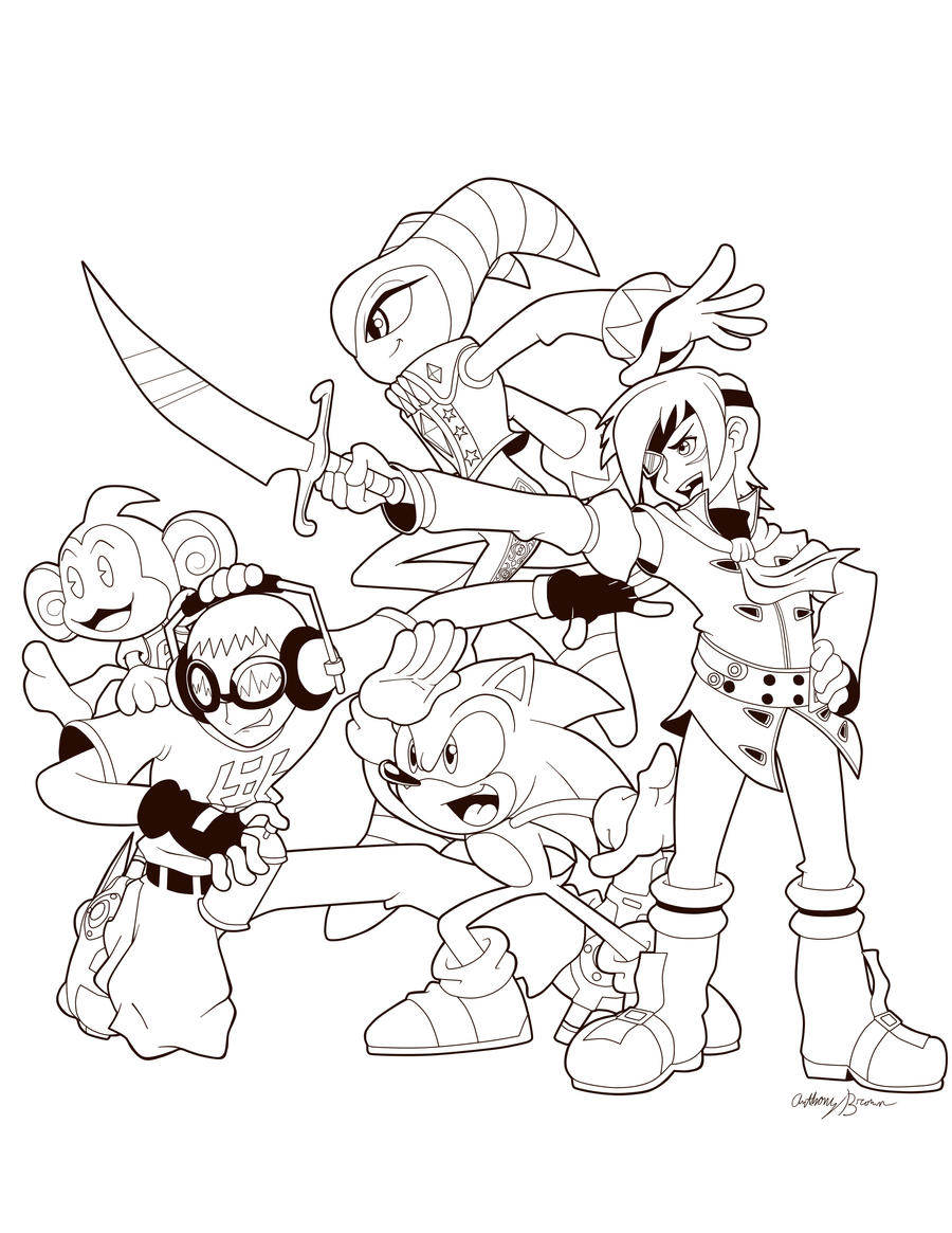 SEGA All-Stars by NextGrandcross