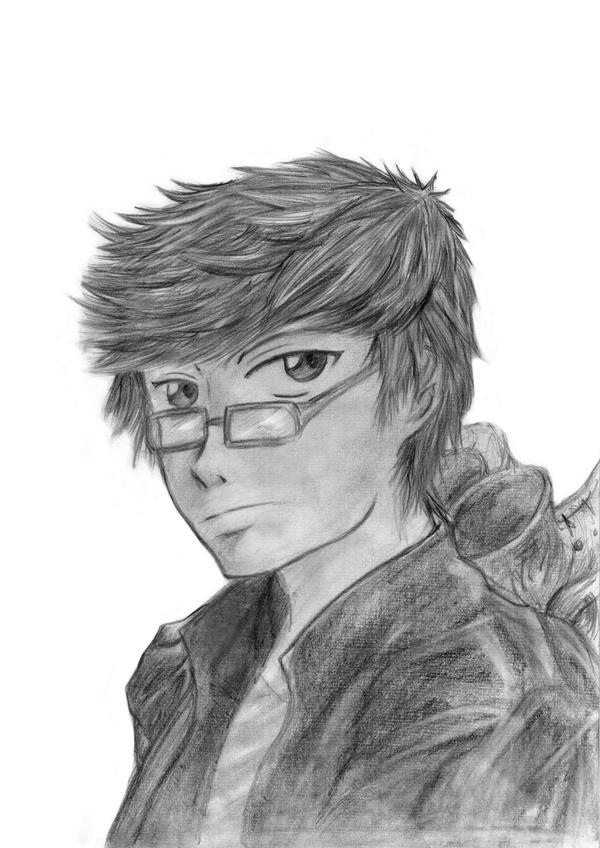 Yoku Ho portrait by Beng91