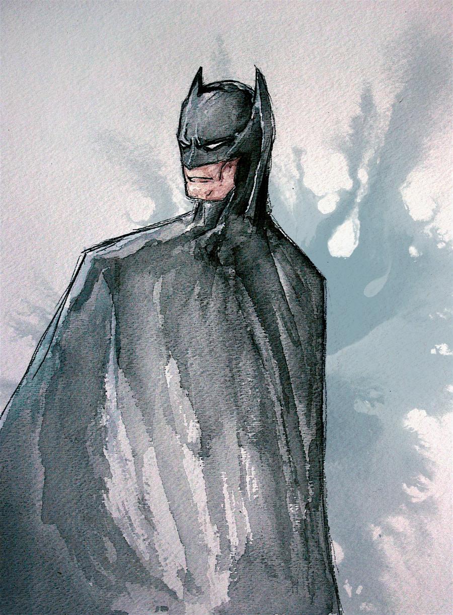 Vandalism - Page 33 Batman_watercolors_by_ma6-d533rj3