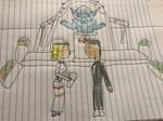 Devon and karen first Jedi wedding by HEROMASTER85