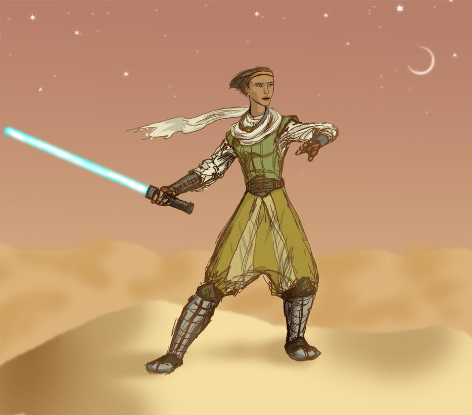 Jedi by Sharsarannon
