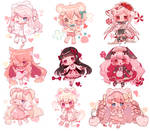 Sketchy chibi batch ( 3 )