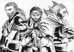 Fur on their shoulders (OCs)