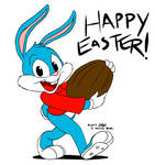 Happy Easter from Buster Bunny