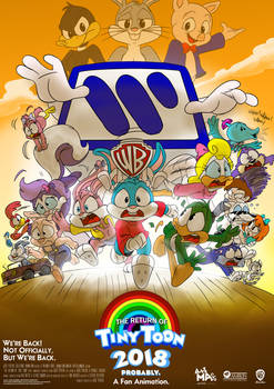 The Return of Tiny Toon | Newer Poster